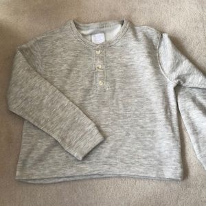 Abercrombie fleece Henley!